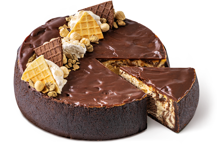 """Cheesecake """"Snickers"""""""