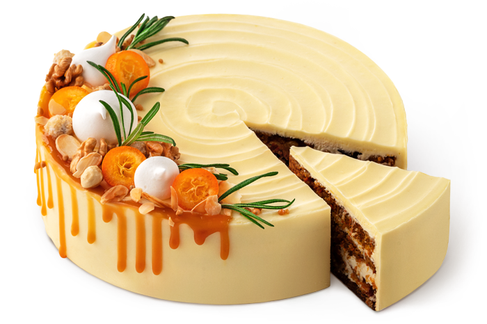 "Cake ""Carrot and Nut"""
