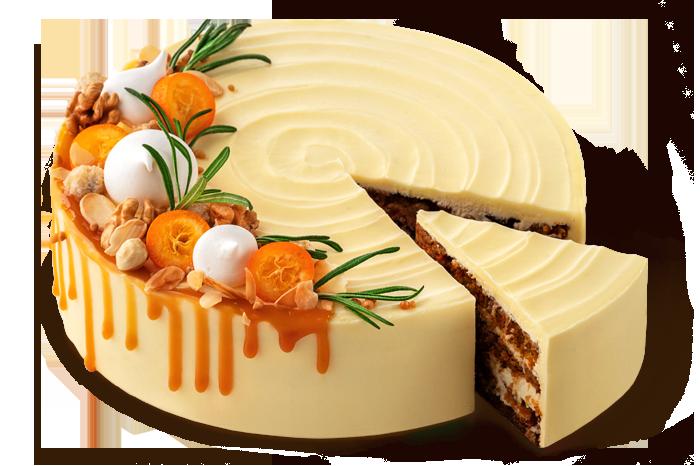 Торт «Морквяно-горіховий»