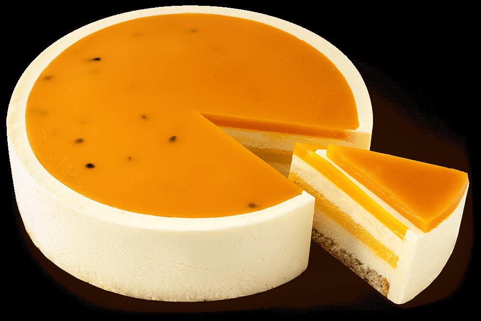 "Cheesecake ""Mango-passionfruit"""