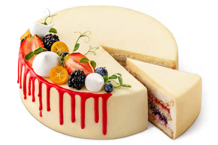 """Cake """"Fruit and berry"""""""