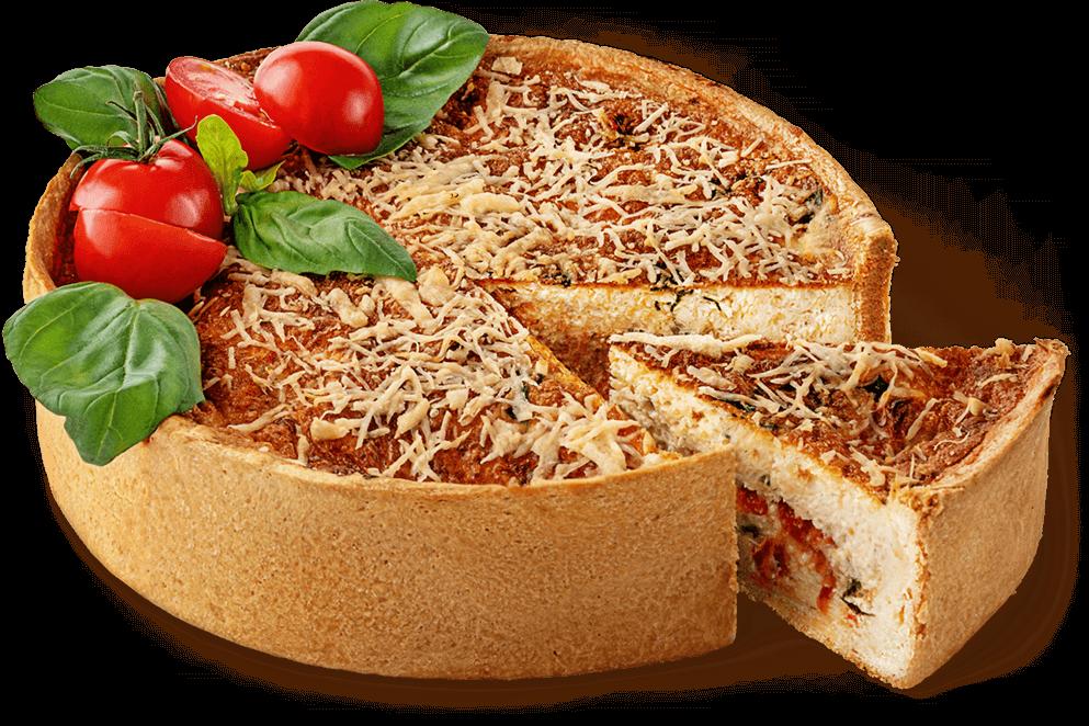 "Cheesecake ""Tomato andbasil"""