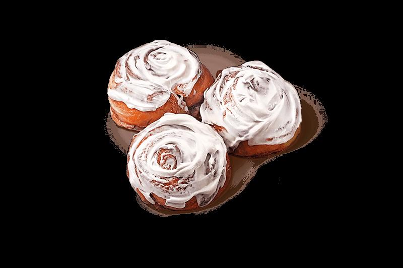 Cinnamon rolls, 6items