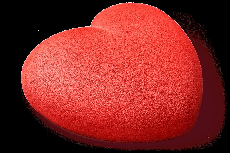 Чизкейк «Клубничное сердце»